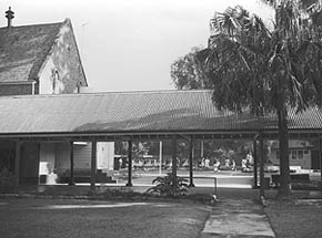 The covered way at Girls Training School, Parramatta